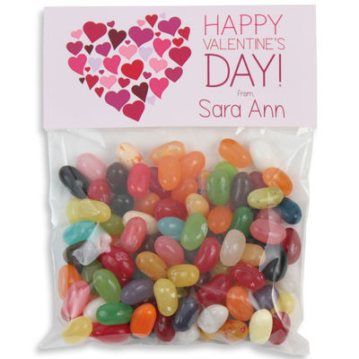 Heart of Hearts Valentines Candy Bag Toppers