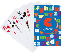 ABC Boy Playing Cards