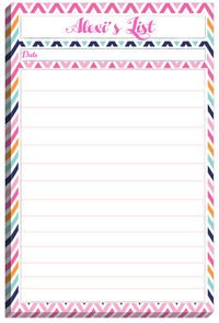 Retro Summer List Pad