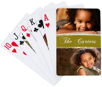 Joyful Olive Playing Cards