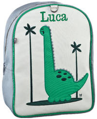 Baxter Dino Small Embroidered Backpack