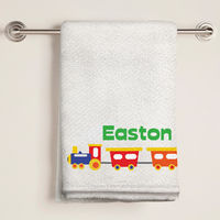 Choo Choo Train Bath Towel