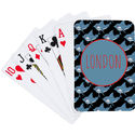 Shark Bite Camp Playing Cards