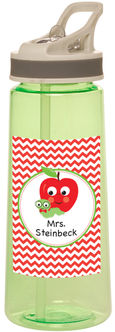 Apple Chevron Water Bottle