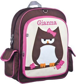 Papar Owl Large Embroidered Backpack