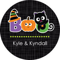 Halloween Boo's Gift Stickers