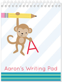 Hanging Monkey Penmanship Book