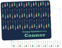 Drawn Arrows Camp Fill-in Card