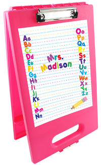 Alphabet Clipboard Storage Case