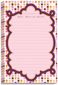 Color Blocks Mom Note Pad
