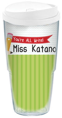 All Write Acrylic Travel Cup