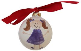 Little Girl Blue Ornament