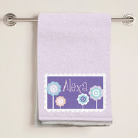 Cutesy Flowers Bath Towel