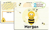 Bumble Bee Dry Erase Placemat