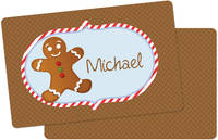 Gingerbread Placemat Boy