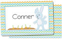 Carrot Blue Placemat