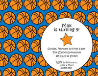 Hoops Invitation