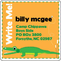 Alligator Chomp Calling Card