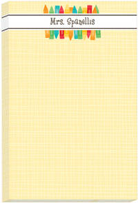 Bunch of Crayons Notepad