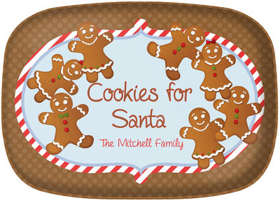 Gingerbread Cookies Platter