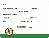 Camp Compass Camp Fill-in Card