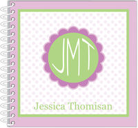 Lavender Monogrammed Flower Journal | Notebook