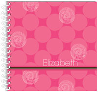 Fuchsia Circles Journal | Notebook
