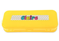 Name in Color Double-Sided Pencil Case