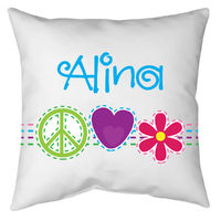 Bright Stitches Autograph Camp Pillow