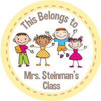 Happy Class Gift Stickers