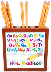 Alphabet Pencil and Pen Holder