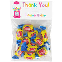 Gumball Birthday Party Candy Bag Favors