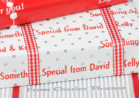 Silver Dot Gift Wrap SD24