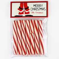 Santa Pants Candy Bag Toppers