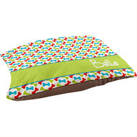Bright Color Bones Pet Bed