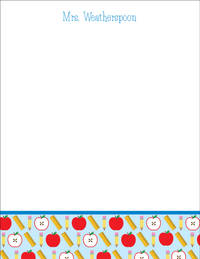 School Supplies Large Notepad