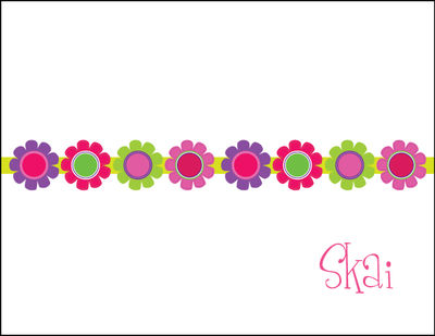 Bright Daisies Foldover Card