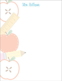 Extra School Supplies II Large Notepad