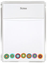 Colorful Flower Memo Sheets G&G
