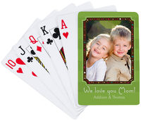 Festive Frame Playing Cards