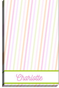 Candy Stripe Too Notepad