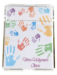 Colorful Hands Memo Sheets