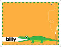 Alligator Chomp Note Card