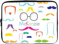Bright Moustaches Laptop/Tablet Sleeve