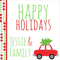 Christmas Tree Tow Gift Stickers