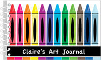 Crayon Creative Art Journal