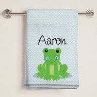 Froggy Bath Towel