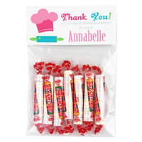 Chef Hat Birthday Party Candy Bag Favors