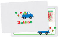 Gift Truck Dry Erase Placemat