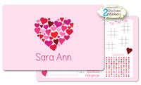 Heart Of Hearts Dry Erase Placemat